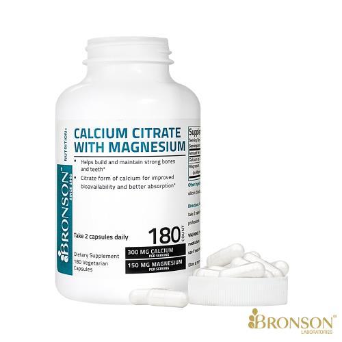 素食補鈣-檸檬酸鈣+鎂