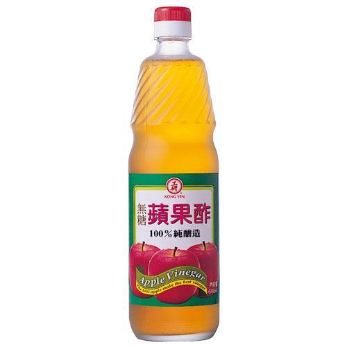 【工研】無糖蘋果醋600ML